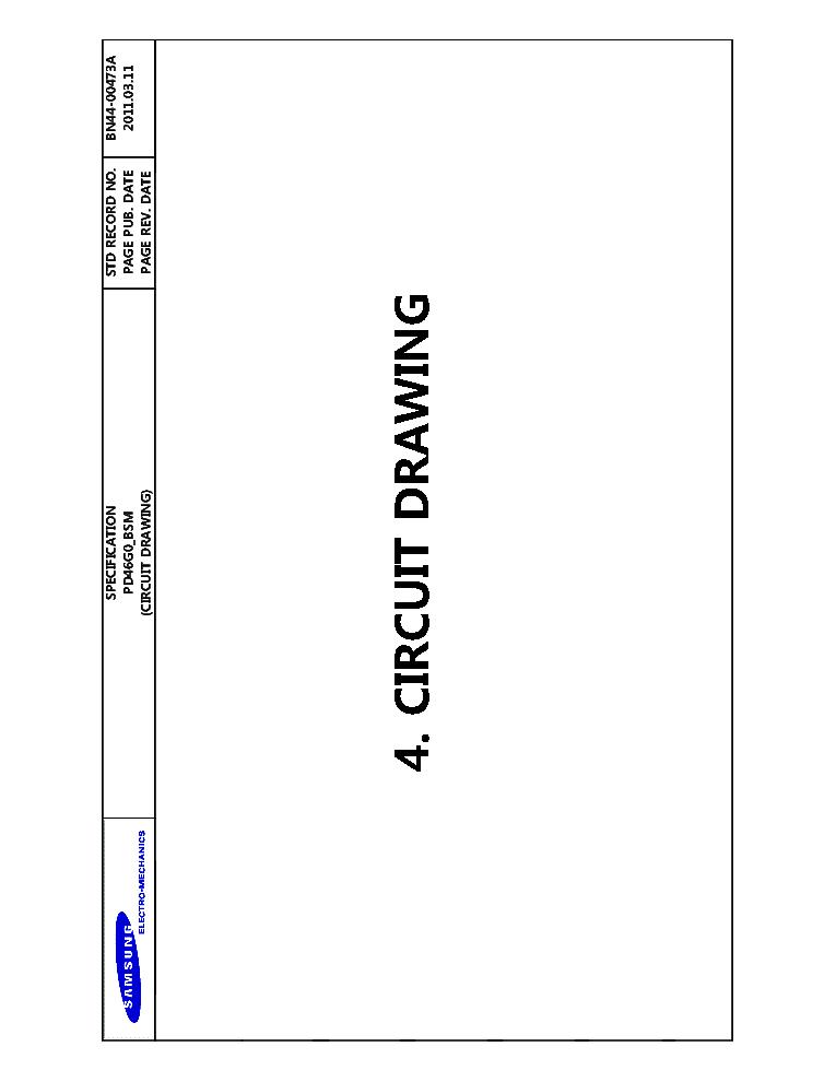 SAMSUNG BN44-00473A PSLF121A03S SMPS UE40D5003 Service