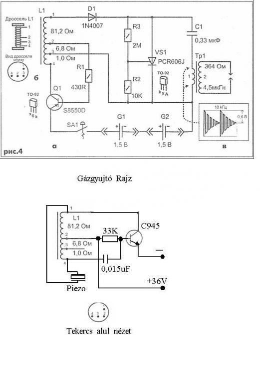 Egyszerű piezo duda készítése elektromos biciklihez
