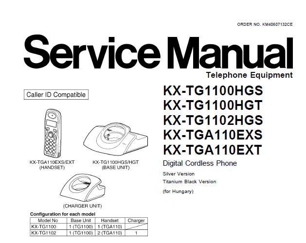 Panasonic KX-TG1100 vezeték nélküli DECT telefon