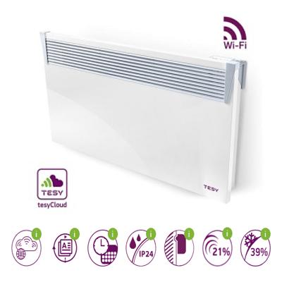 Zidni konvektor Tesy 3000W sa WiFi CN03 serija Elektro Vukojevic