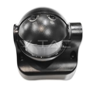 Senzor pokreta 180 300W 12m 10 sec-7 min Crni Elektro Vukojevic