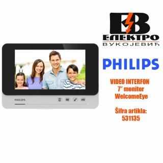 Video interfon monitor 7 WelcomeEye Philips Elektro Vukojevic