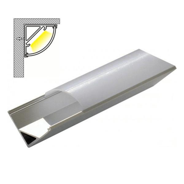 Aluminijumski profil za LED trake 2000x16x16mm Mitea Elektro Vukojevic