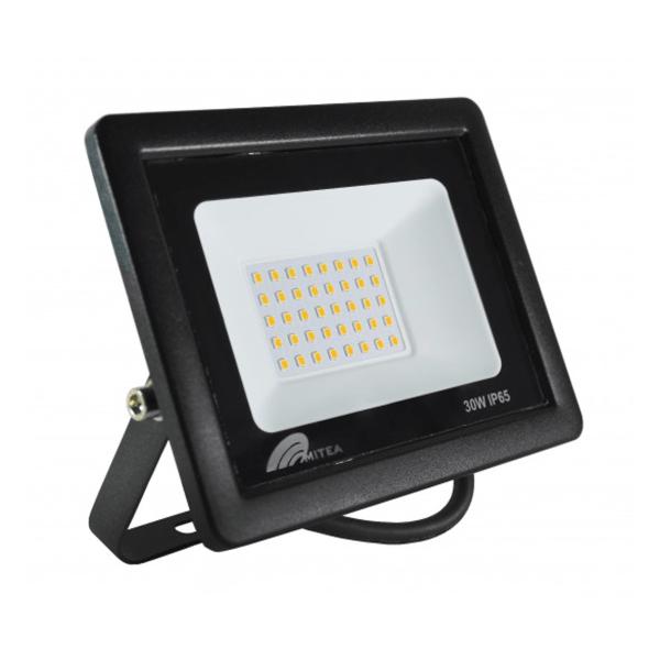 Eco LED reflektor 30W 3000K 2550lm Crni Mitea Elektro Vukojevic