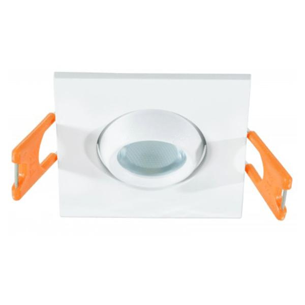 LED lampa ugradna 3W 6500K 55x55x30mm Bijela Mitea Elektro Vukojevic