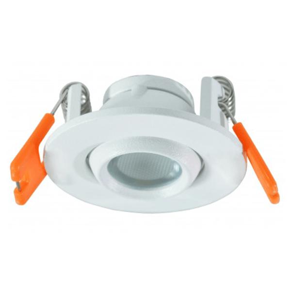 LED lampa ugradna 3W 6500K Ø55x30mm Bijela Mitea Elektro Vukojevic