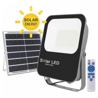 Solarni LED reflektor 60W IP65 1400lm Mitea Elektro Vukojevic