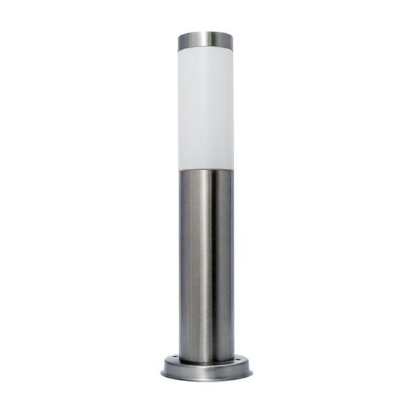 Bastenska lampa stubna E27 max.A58 Saten hrom Mitea Elektro Vukojevic