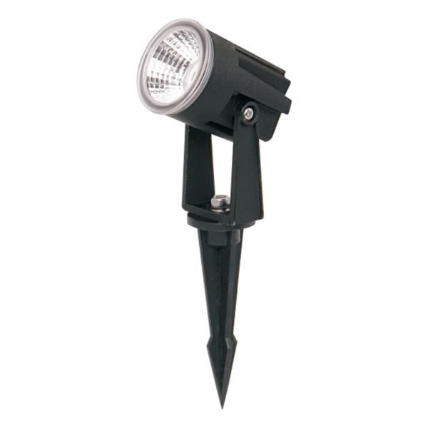 Ubodna crna LED lampa 10W 4000K IP65 Mitea Elektro Vukojevic