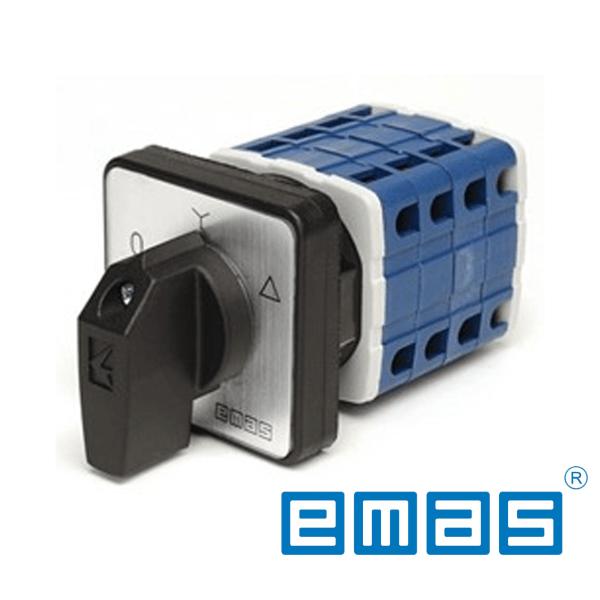 Grebenasti prekidač 0-Y-D, 3-fazni, 32A IP54 EMAS Elektro Vukojevic
