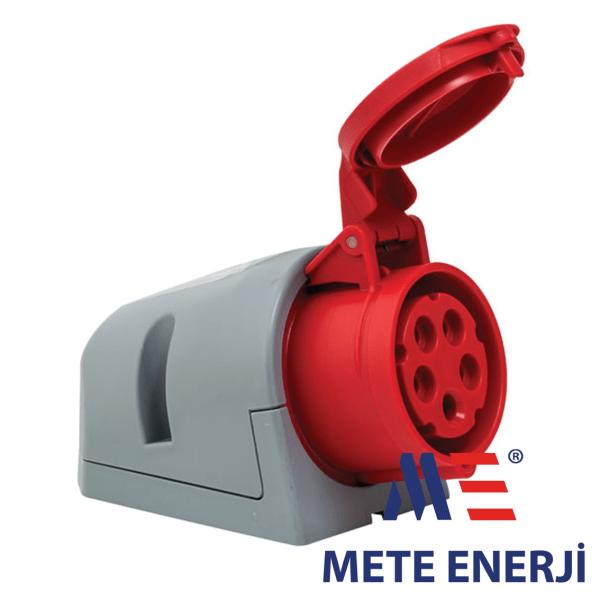 Industrijska utičnica montaža na zid,5-polna 16A Mete Enerji Elektro Vukojevic