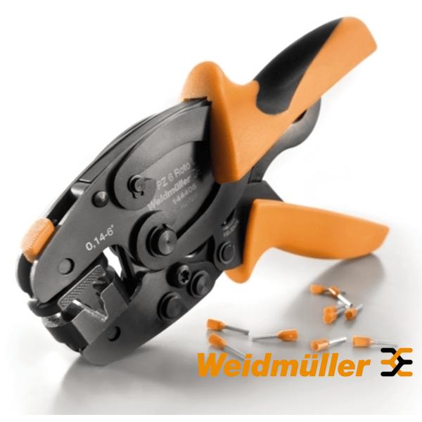 Kliješta za presanje hilzni 0,14-6 mm PZ 6 roto L Weidmuller Elektro Vukojevic