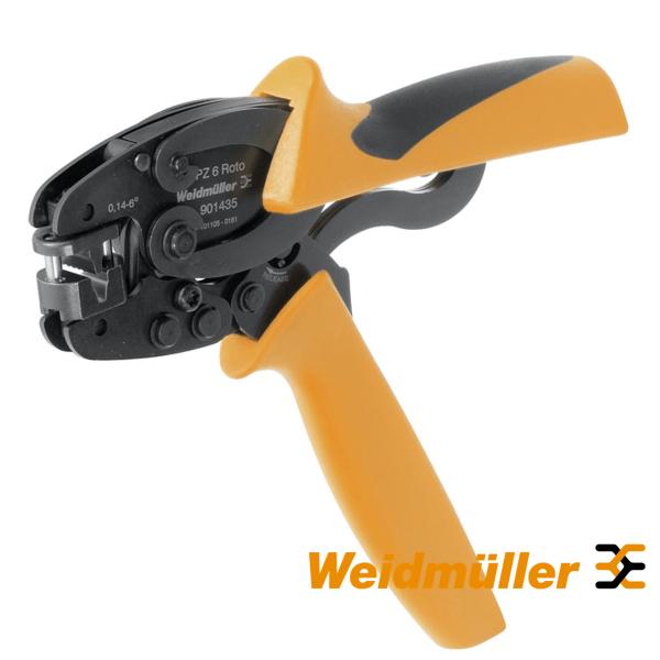 Kliješta za presanje hilzni 0,14-6 mm PZ 6 roto Weidmuller Elektro Vukojevic