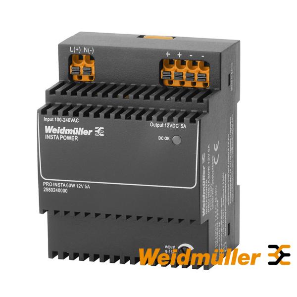 PRO INSTA 60W 12V 5A napojna jedinica Weidmuller Elektro Vukojevic