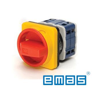 Grebenasti prekidač 0-1, 3-polni,120A IP54 EMAS Elektro Vukojevic