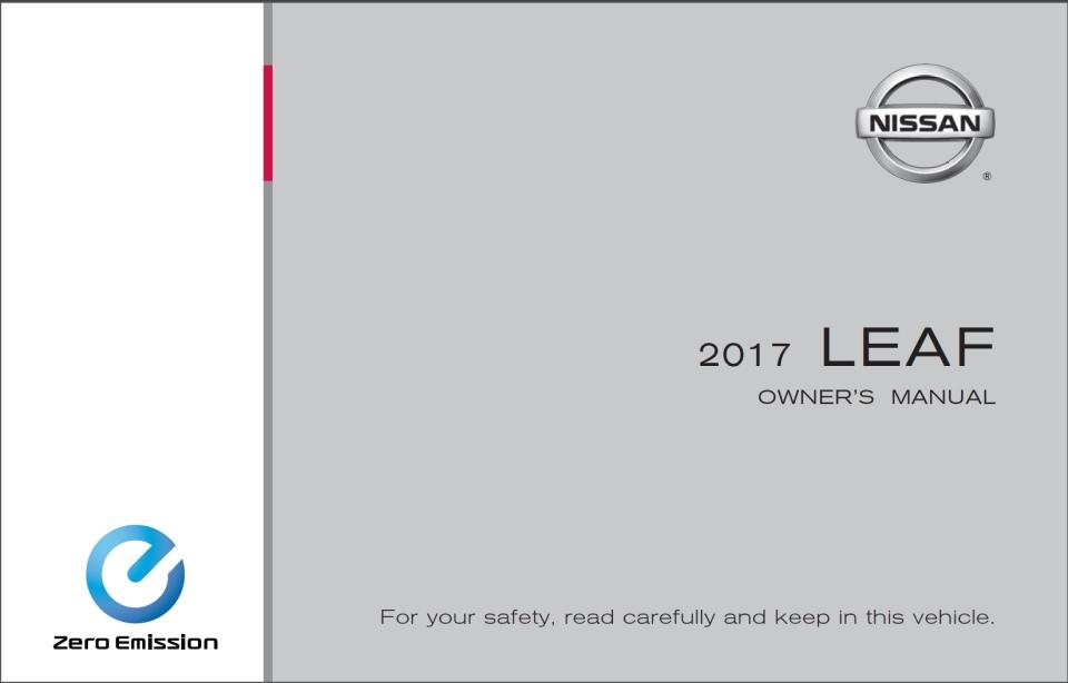 Nissan Leaf INSTRUKCJA OBSŁUGI [PDF] do pobrania ZA DARMO