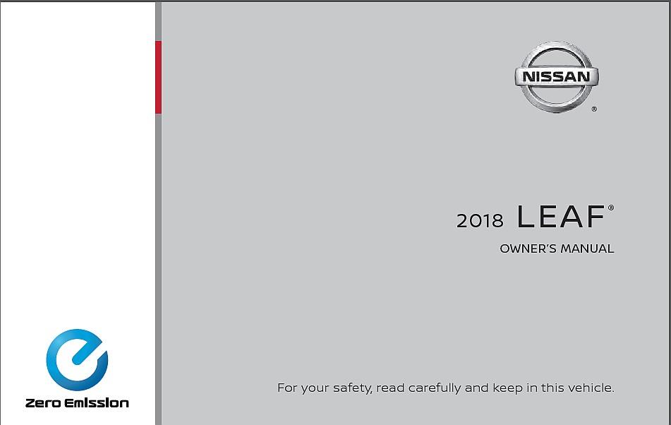 Nissan Leaf 2: instrukcja DO POBRANIA za darmo [wersja po