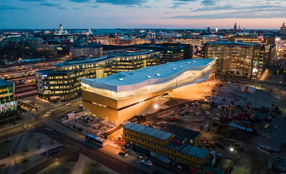 Oodi, the new Helsinki Central Library in Finland