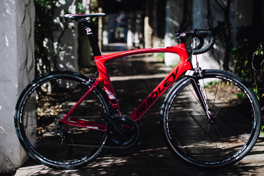 The Ridley Noah: Aero bike we can afford. Photo: Stephen Lam/ Element.ly
