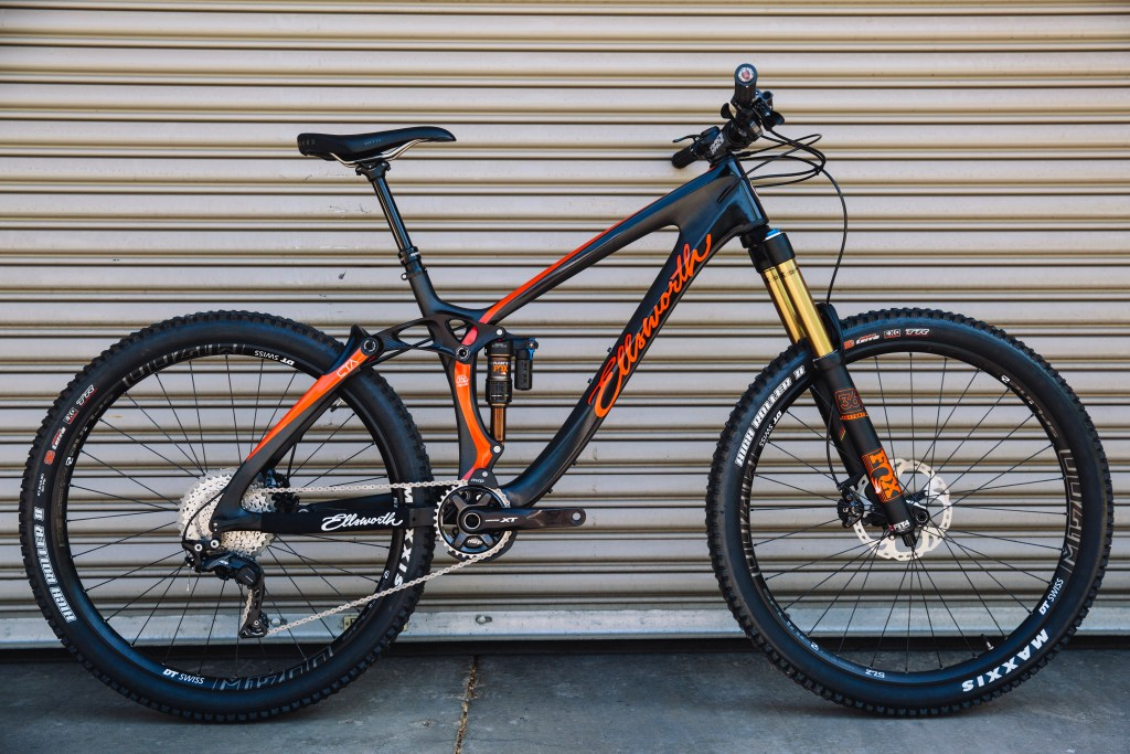 Ellsworth Rogue Sixty in orange and black Photo: Stephen Lam/element.ly
