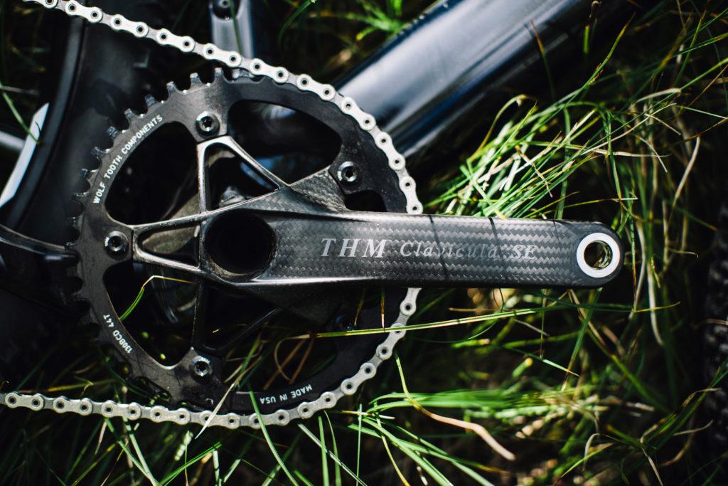 THM Calavicula SE crankset. Bling. Photo: Stephen Lam/element.ly