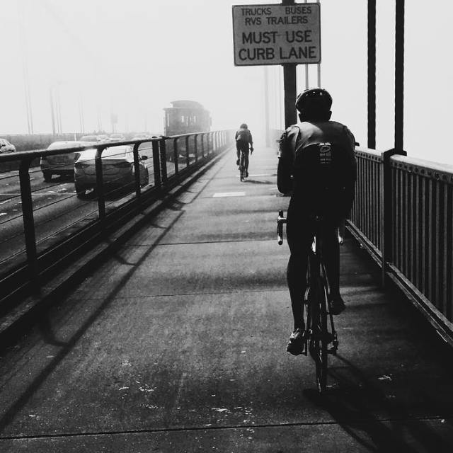 The weekend is almost here cc karlthefog groupridechronicle goldengatebridge