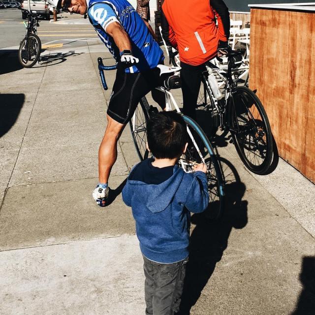 Friday bike check groupridechronicle startemyoung