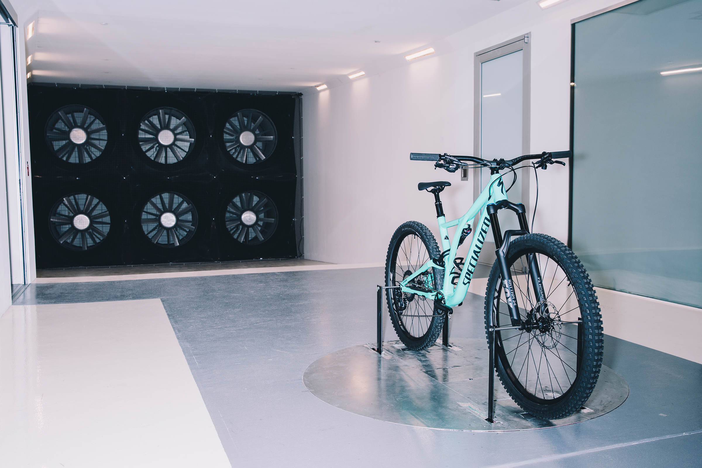 Specialized headquarters wind win tunnel