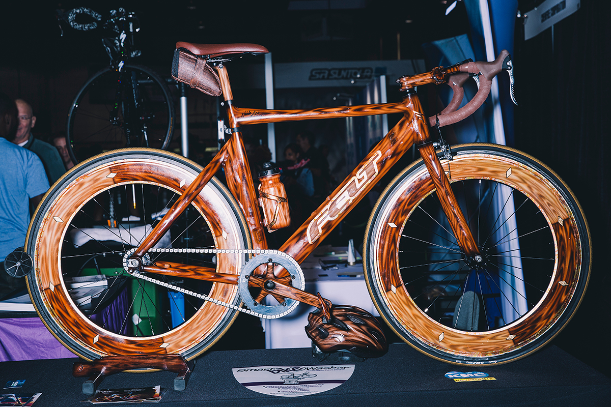 Custom painted Felt Interbike 2018