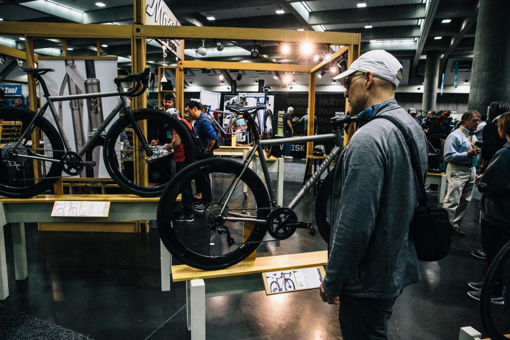 NAHBS Mosaic titanium custom bikes