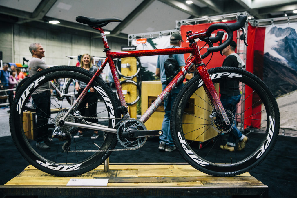 NAHBS Mosaic titanium custom bikes SRAM