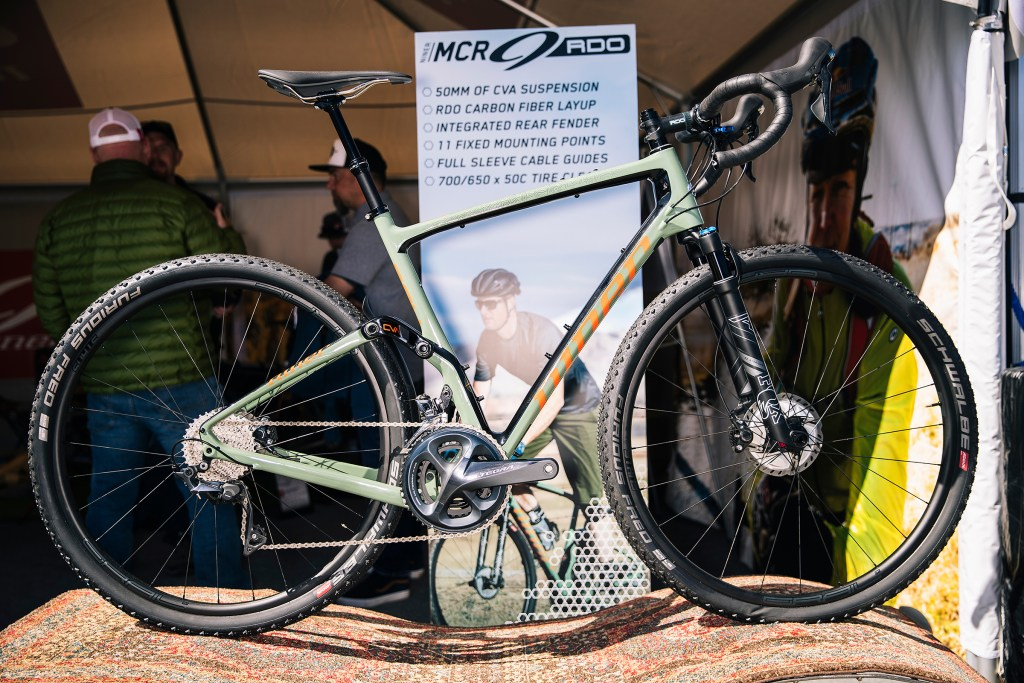 Niner MCR9 RDO full suspension gravel bike Sea Otter Classic
