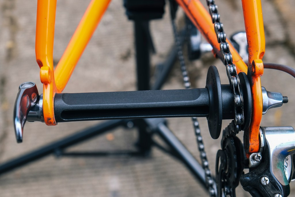 Topeak Prepstand X bicycle repair stand review rear dummy hub