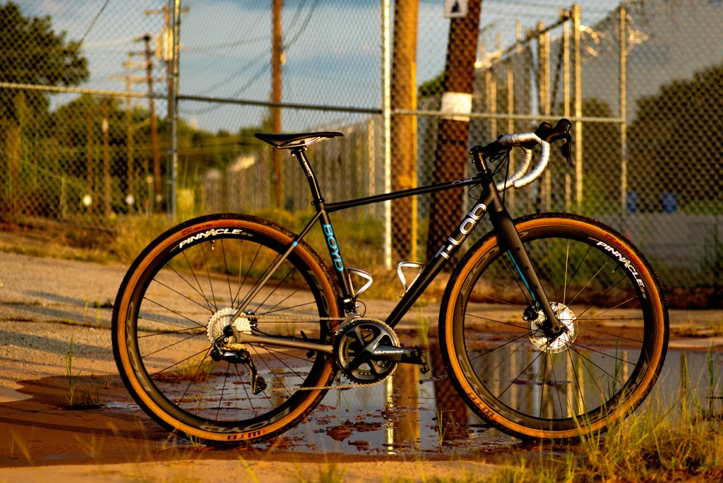 Boyd X3 T-Lab titanium gravel bike