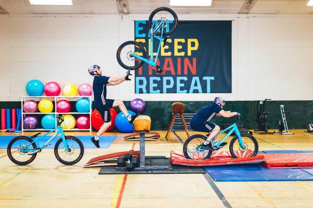 Danny MacAskill Gym Red Bull