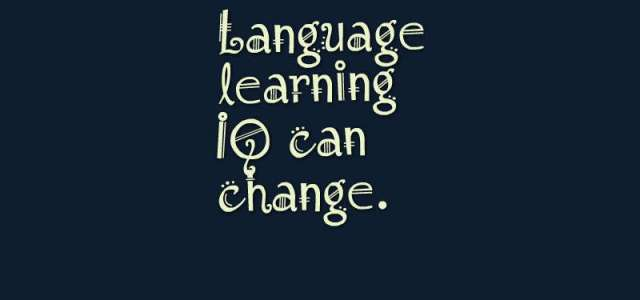 13 – Good Language Learners