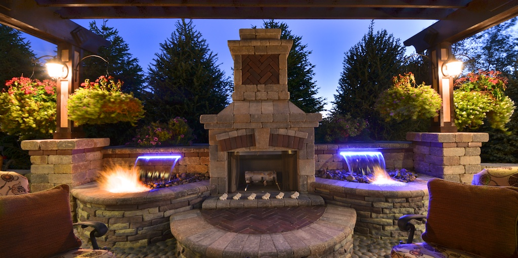 jacksonville outdoor kitchens wallpaper for fire and water features by elemental landscapes, ltd.