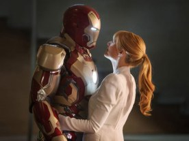 Iron Man with Pepper Potts