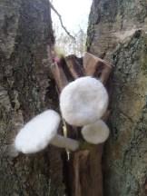 Porcelain Mushroom Stack