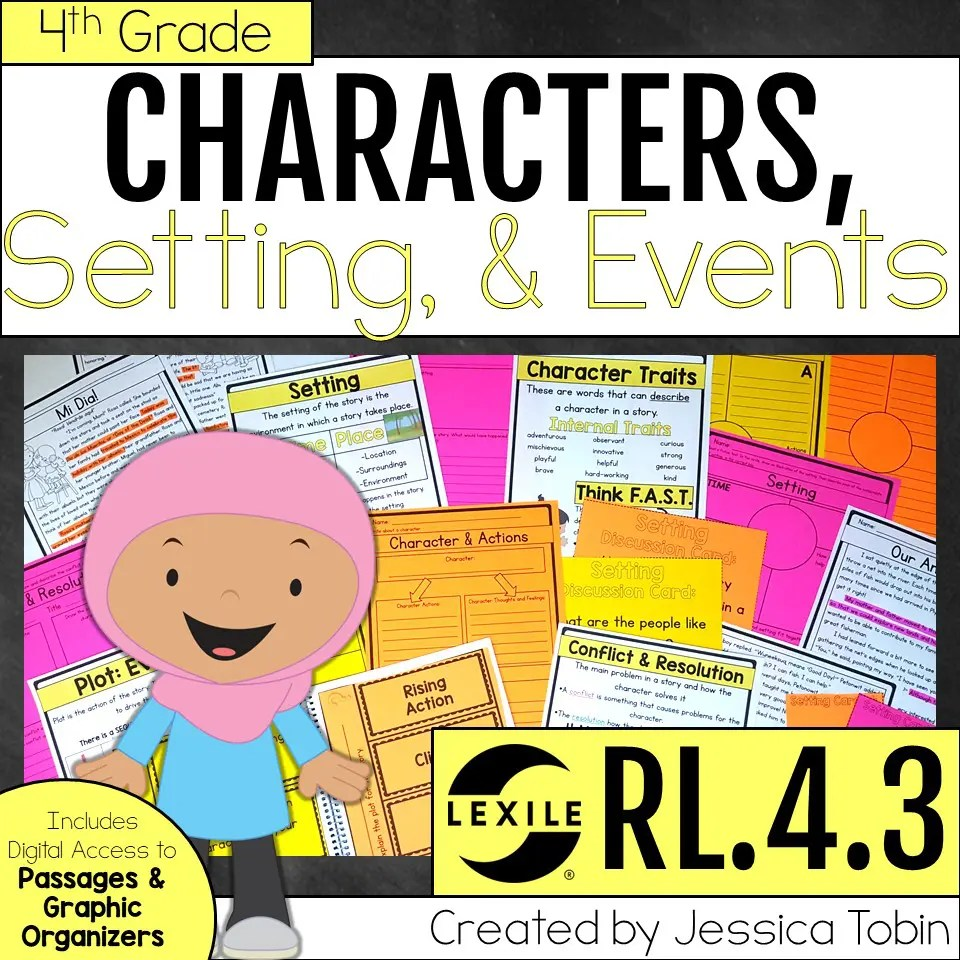 hight resolution of Story Elements- Teaching Tips - Elementary Nest