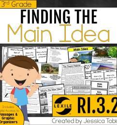 Main Idea and Main Topic (Exploring ELA) - Elementary Nest [ 960 x 960 Pixel ]