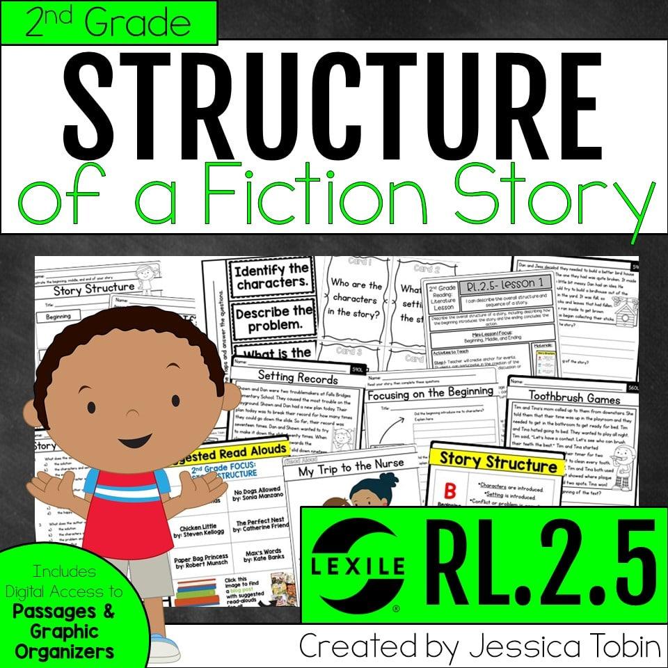 hight resolution of Story Structure (Exploring ELA) - Elementary Nest