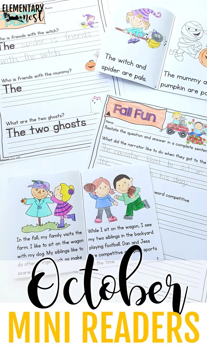 hight resolution of Primary October Resources and a FREEBIE - Elementary Nest