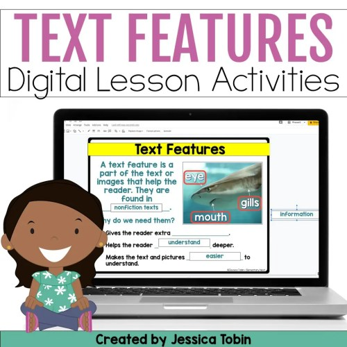 small resolution of Teaching Text Features (Exploring ELA) - Elementary Nest