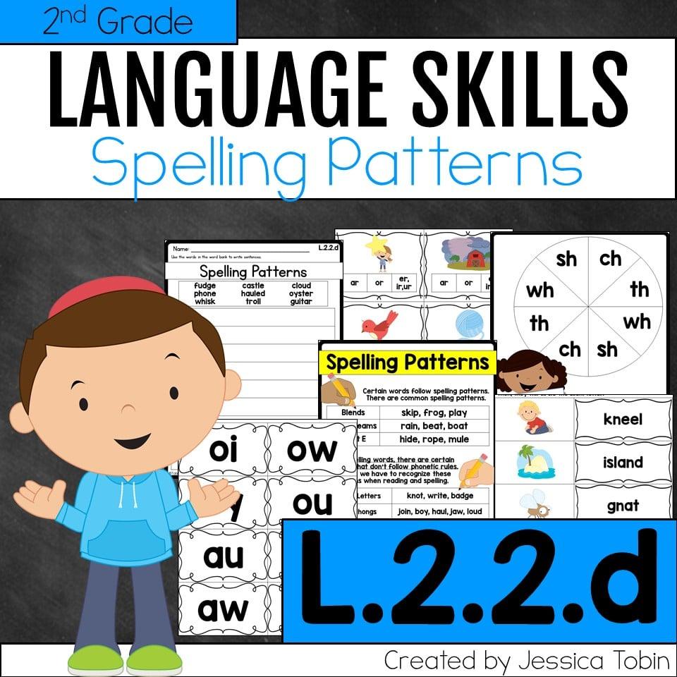 medium resolution of L.2.2.d Spelling Patterns - Elementary Nest