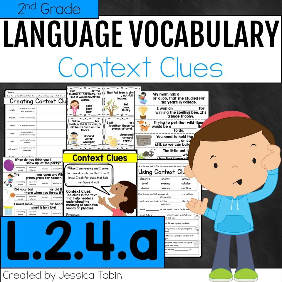 hight resolution of L.2.4.a- Context Clues - Elementary Nest