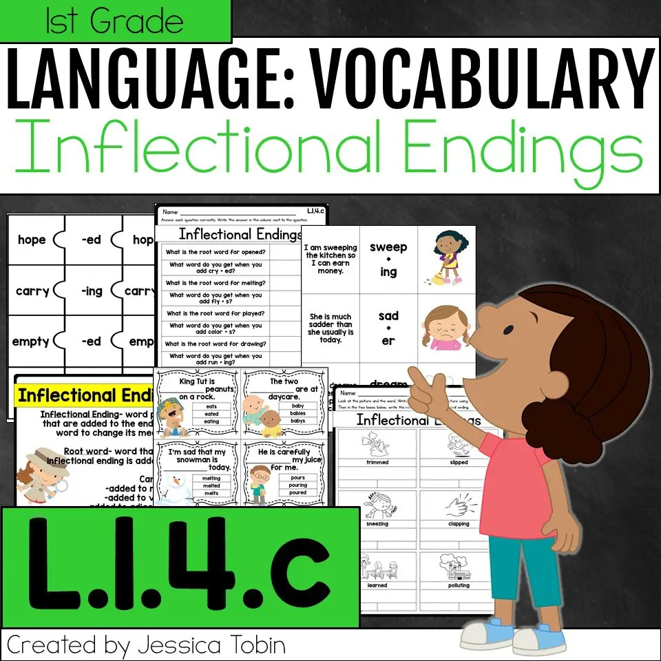 hight resolution of L.1.4.c- Inflectional Endings - Elementary Nest