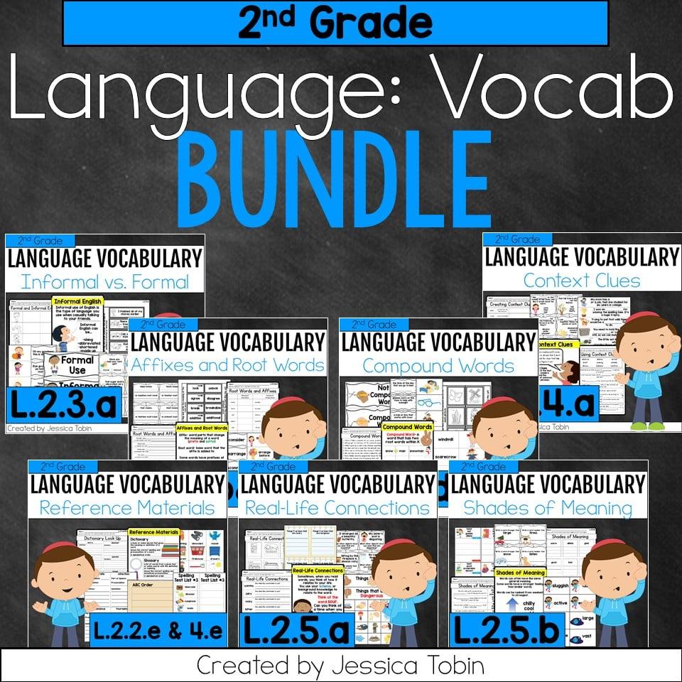 hight resolution of 2nd Grade Language Vocabulary Bundle