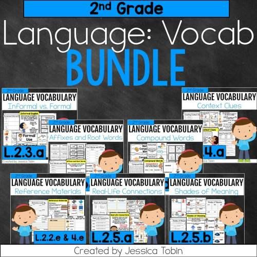 small resolution of 2nd Grade Language Vocabulary Bundle