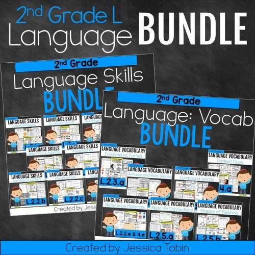 small resolution of 2nd Grade Language Domain Bundle - Elementary Nest
